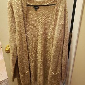 Torrid size 2 tan sweater